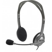 Logitech H111 headband with adjustable microphone cable