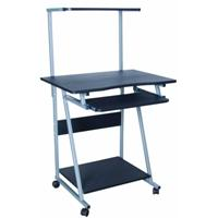Xtech Table of 2 levels for Computer and Printer Wood/Steel Blac