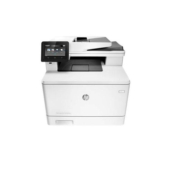 HP Multifuntional color Laserjet MFP M477DW 28 ppm Red