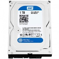 Hard drive Western Digital 1 TB, 7200 64MB buffer SATA 3.5""